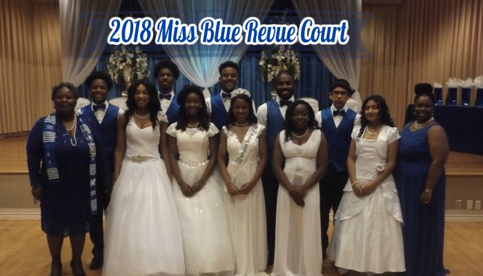 2018 Miss Blue Revue Court