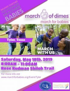 2019 March for Babies- Tyler Texas