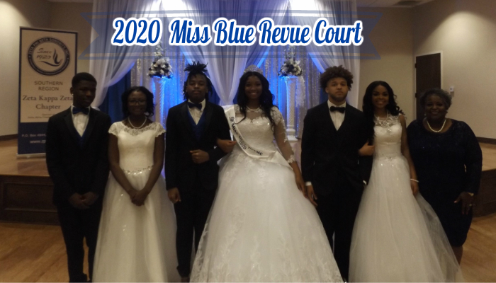2020 Miss Blue Revue Court
